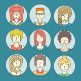 Colorful People Stock Images