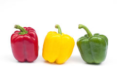 Colorful pepper isolated. Stock Photography