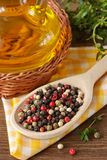 Colorful peppercorns. Stock Photography