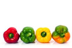 Colorful peppers Royalty Free Stock Images
