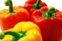 Colorful peppers. From South America Royalty Free Stock Images