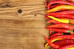 Colorful peppers Royalty Free Stock Photo