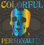 Colorful personality Stock Images