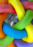 Colorful pet ball Stock Photos