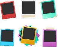 Colorful photo frame set 1 Royalty Free Stock Image
