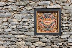 Colorful Phutan window Stock Image