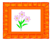 Colorful picture frame. Stock Photo