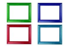 Colorful picture frame Royalty Free Stock Image