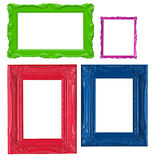 Colorful picture frames Royalty Free Stock Photo