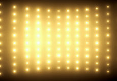 Colorful picture of yellow glimmers. Colorful picture of tiny yellow glimmers Stock Images