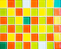 Colorful pieces of glass Royalty Free Stock Images