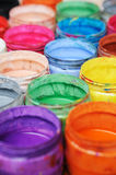 Colorful pigment Stock Photo