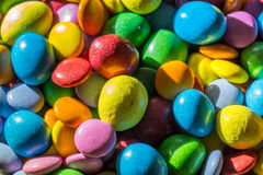 Colorful pile of candy Royalty Free Stock Images