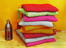 Colorful pillows Stock Images