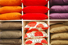 Colorful pillows Stock Photography