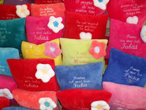 Colorful pillows Royalty Free Stock Photo