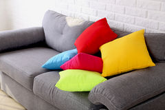 Colorful pillows Royalty Free Stock Images