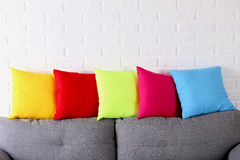 Colorful pillows Royalty Free Stock Photography