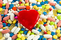 Colorful pills. Stock Photo