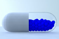 Colorful pills. A close up of many colorful pills Royalty Free Stock Images