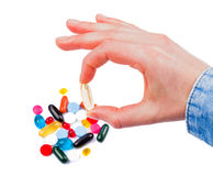 Colorful pills Royalty Free Stock Photography