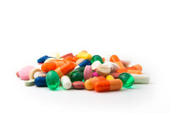 Colorful pills Royalty Free Stock Photo