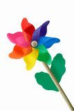 Colorful pin wheel royalty free stock images