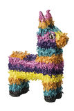 Colorful Pinata. A colorful Mexican pinata isolated on a white background Royalty Free Stock Photos