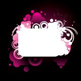 Colorful_pink_grunge_frame Stockbild