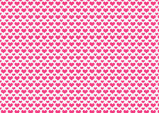 Colorful Pink Heart Pattern Background. Royalty Free Stock Photo