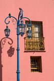 Colorful Pink Wall in La Boca Royalty Free Stock Photos