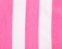 Colorful pink and white stripes. Stock Photos