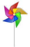 Colorful pinwheel Stock Photography