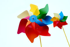 Colorful pinwheel Stock Images