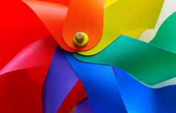 Colorful pinwheel Royalty Free Stock Photography