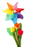 Colorful pinwheel Royalty Free Stock Images