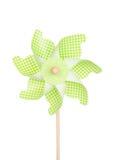 Colorful pinwheel isolated on white Royalty Free Stock Image