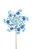 Colorful pinwheel isolated on white Stock Photo