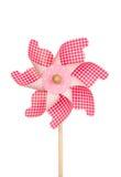 Colorful pinwheel isolated on white Royalty Free Stock Photo