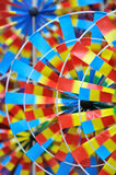 Colorful pinwheel toys pattern Stock Photo