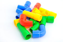 Colorful Pipe toy for child Stock Images