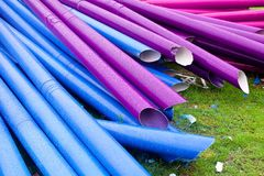 Colorful pipes Royalty Free Stock Photography