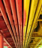 Colorful Pipes Stock Photography