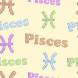 Colorful Pisces Royalty Free Stock Image