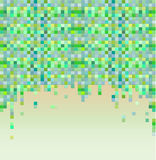 Colorful pixel background. Royalty Free Stock Photo