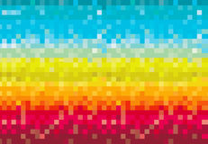 Colorful pixelated Stock Images