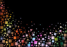 Colorful Pixels Background Royalty Free Stock Images