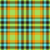 Colorful plaid Stock Photo
