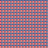 Colorful Plaid Pattern. Colorful funky overlapping grid background Royalty Free Stock Photos