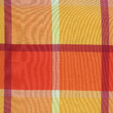 Colorful plaid table cloth texture Stock Image